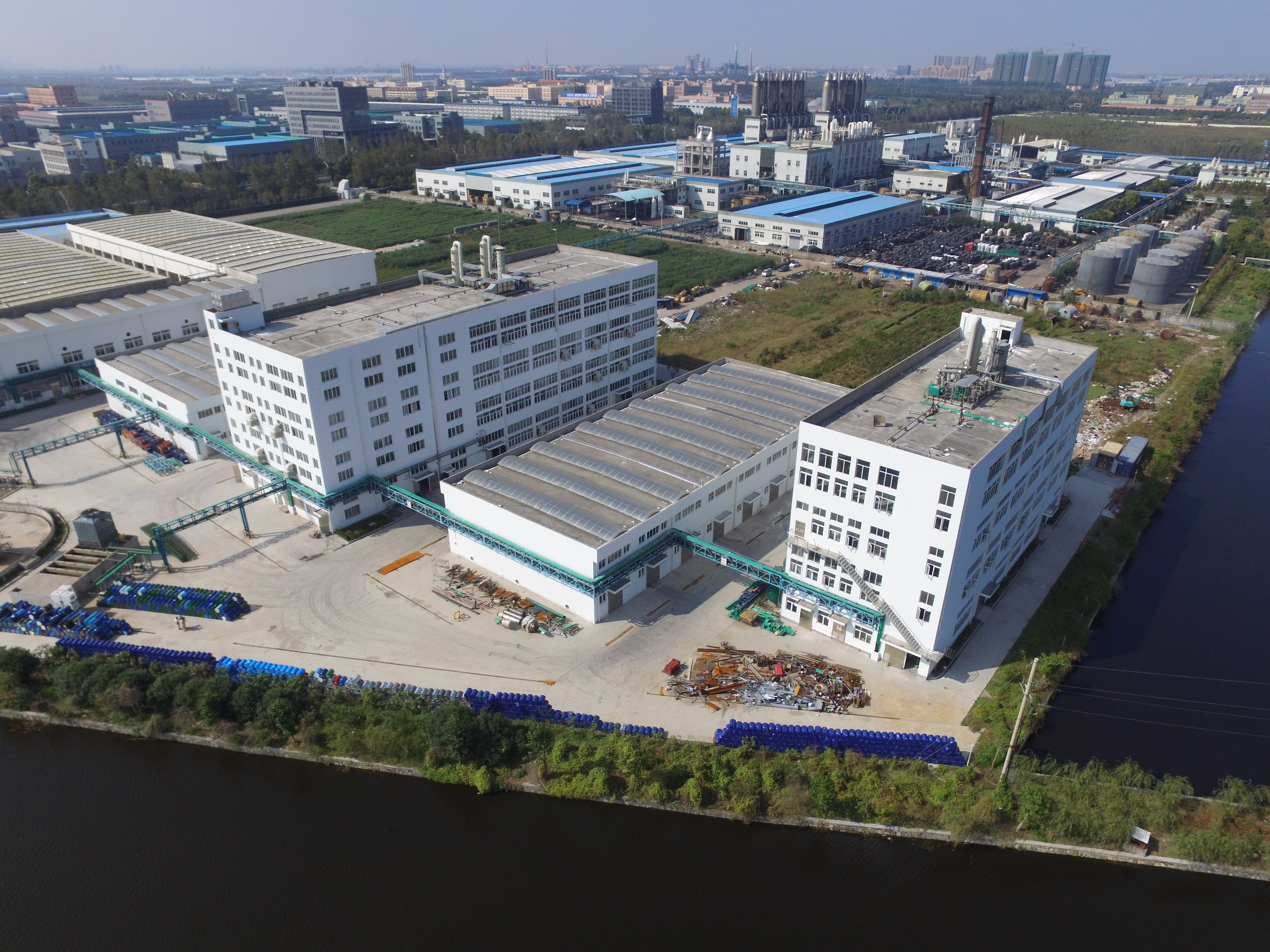 UNIQCHEM opens their local factory in China Xiaoshan (Hangzhou)